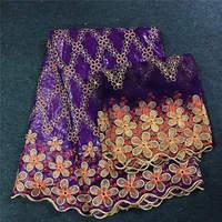 Высокое качество стили Дубай Базен ткани с бисером Гвинея Brocade Базен кружева французского кружева комплект для одевания 30