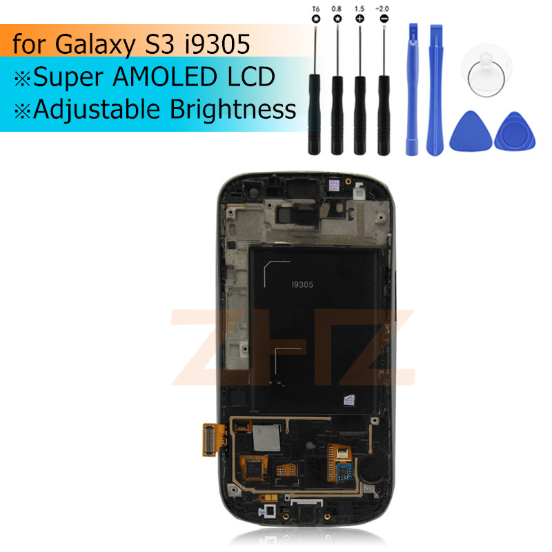 Super AMOLED LCD Per Samsung Galaxy S3 i9305 LCD Display LCD Touch Screen Digitizer Assembly con cornice LCD per Galaxy S3 i9305Super AMOLED LCD Per Samsung Galaxy S3 i9305 LCD Display LCD Touch Screen Digitizer Assembly con cornice LCD per Galaxy S3 i9305