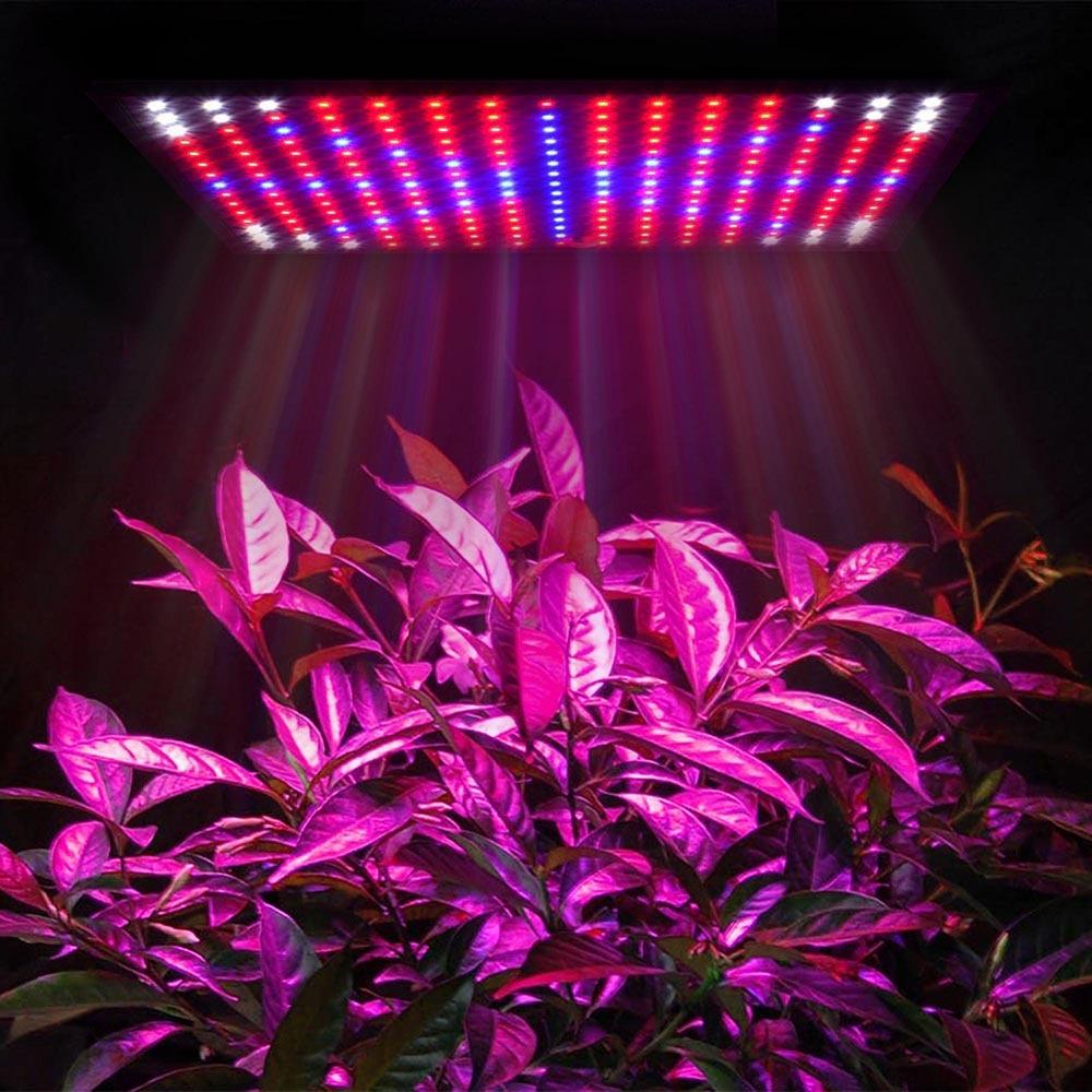 High Power 225 LED Phyto-lamp LED Grow Light Full Spectrum LED Panel Grow Lamp AC85-265V For Plants Hydroponics Tent EU/US Plug