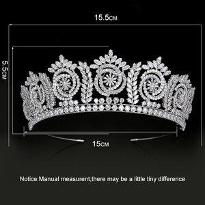 Image 5 - Tiara S En Kronen Mode Elegante Bruids Kronen Voor Vrouwen Huwelijkscadeau Haaraccessoires BC4847 Haar Sieraden Corona Princesa