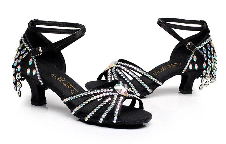 Baskets diamant gland chaussures latines enfants fille chaussures de danse femme adulte chaussures de sport latine salon femmes chaussures danse