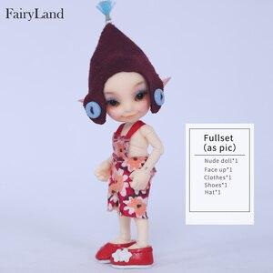 Image 4 - New arrival Fairyland FL Realpuki Toki 1/13 bjd sd żywica figurki luts yosd zestaw lalki dla sprzedaży zabawki prezent wysokiej jakości żywicy lalki