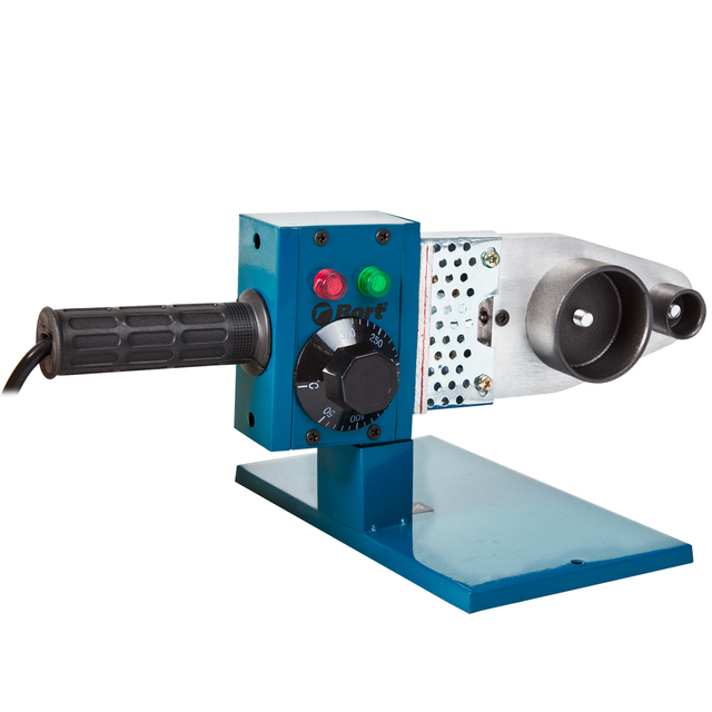 Machine for welding pipe Bort BRS-1000 (Power 1000 W, nozzle 20/25/32/40/50/63mm, temperature adjustment to 300 °С)