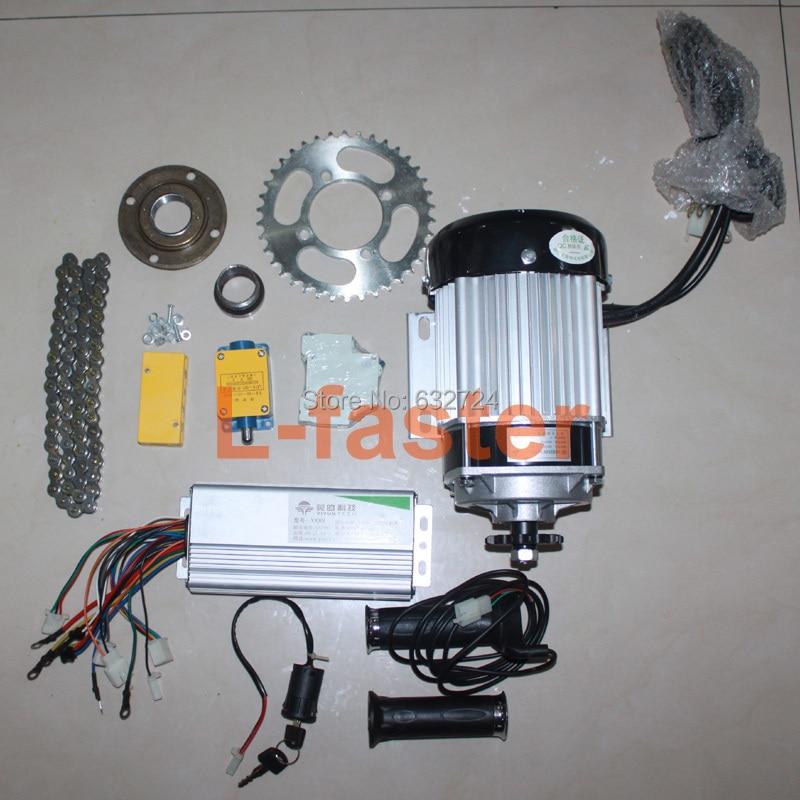 Electric Motor Kit For Trike: Aliexpress.com : Buy 48V 500W ELECTRIC MOTORIZED BIKE