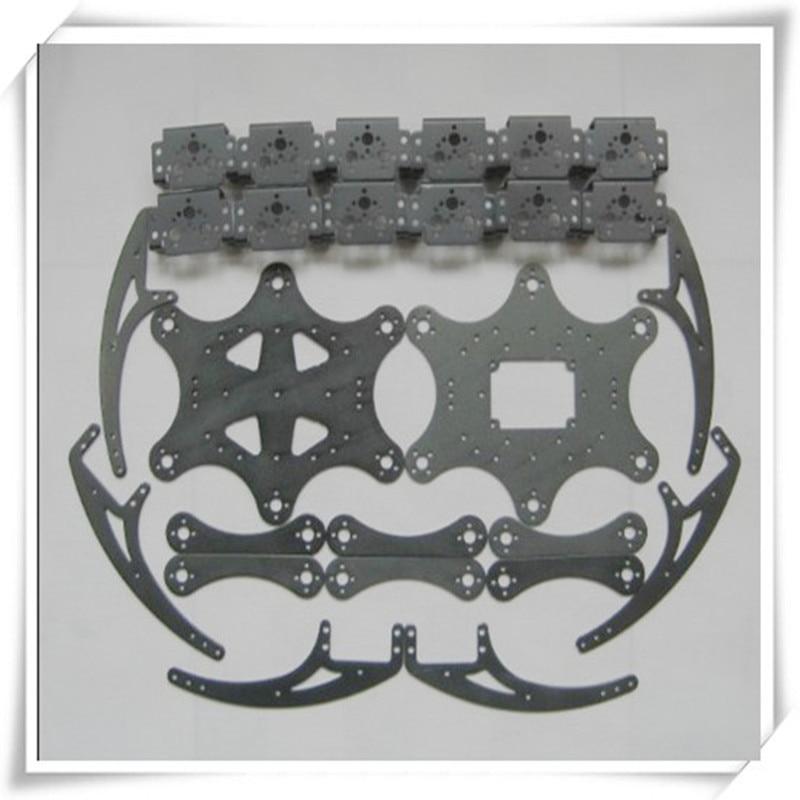 Spider kits Robot Toy DIY Educational Technology Competition Six feet spider framework no servo