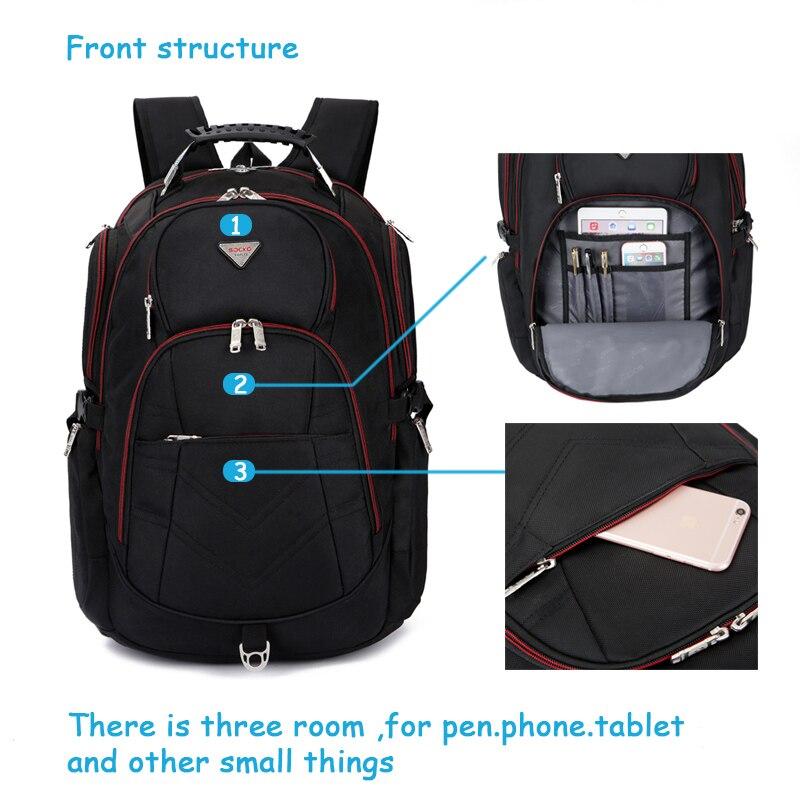 Sac à dos pour ordinateur portable pour 17 17.3 18 18.4 pouces grande capacité voyage sac à dos ordinateur sac à dos avec de nombreuses pièces pour homme femme