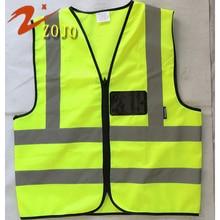 Safevt Brand Vest Zojo Safety Clothing Factory Outlet Free Print Logo Reflective High Brightness Workplace Supplies V005