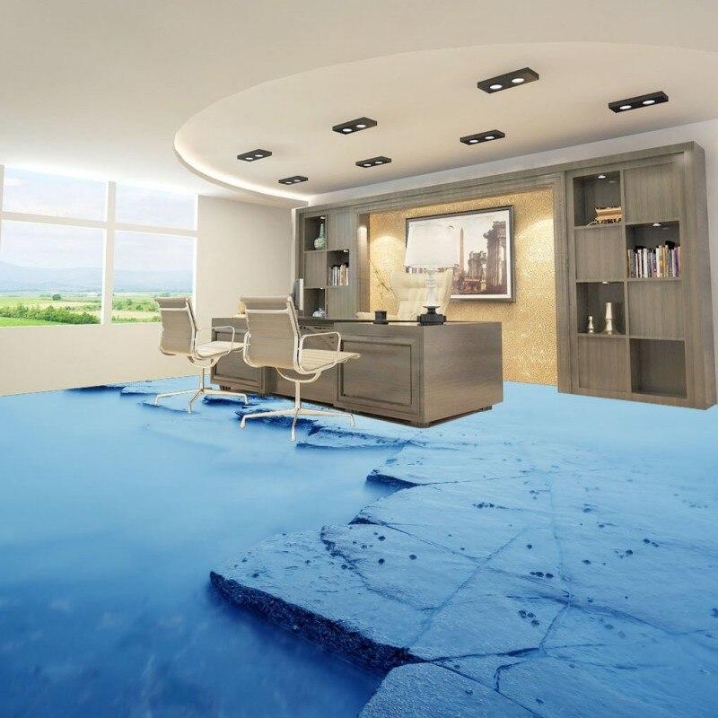 Slug Trail On Living Room Carpet: Free Shipping Custom Stone Trail Ocean 3D Living Room