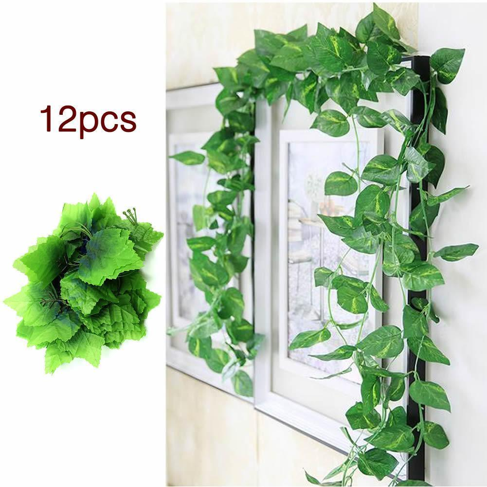 230 cm pas cher artificielle feuille de lierre plantes for Plantes artificielles pas cher