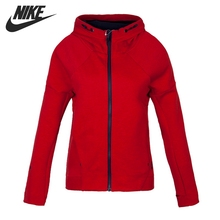 Original NIKE TECH FLEECE FZ HOODIE Women's Jacket Hooded Sportswear(China)