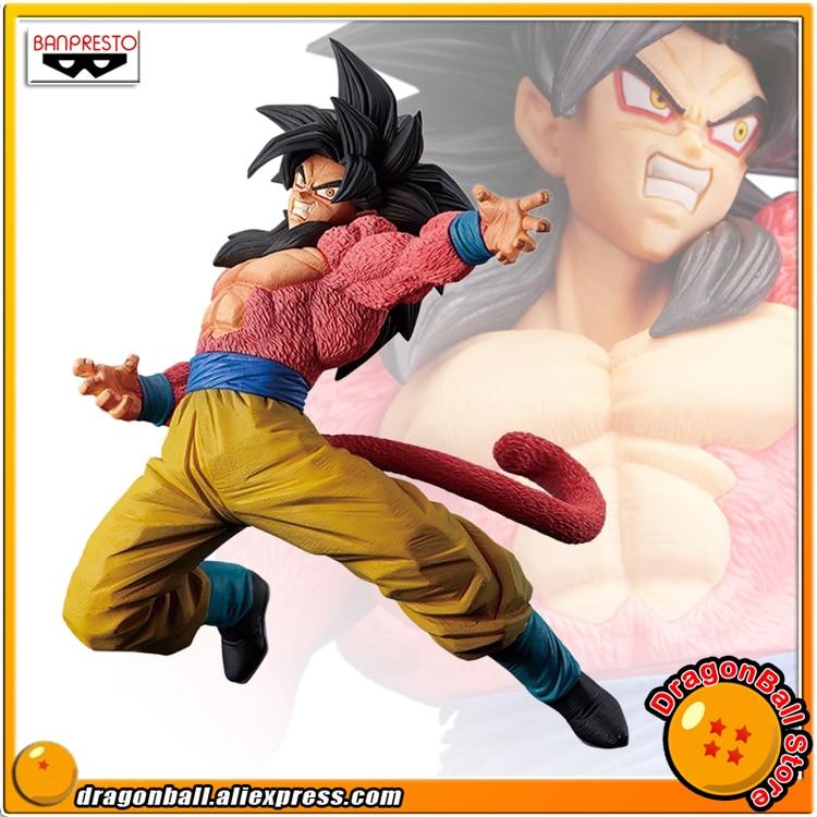 Japan Anime Dragon Ball Super Original Banpresto Son Gokou FES !! vol.6 Collection Figure - Super Saiyan 4 Son Goku 100% original banpresto resolution of soldiers collection figure vol 1 super saiyan son gokou from dragon ball z