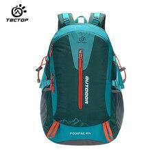 TECTOP Men Women 40L Climbing Bag Carrying System Terylene Material Travel Camping Outdoor Sport Backpacks