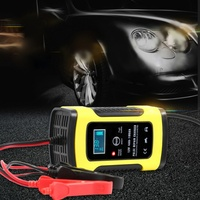Motorcycle Car Battery Charger 12v Fully Intelligent Repair Type Lead Acid Storage Car Charger