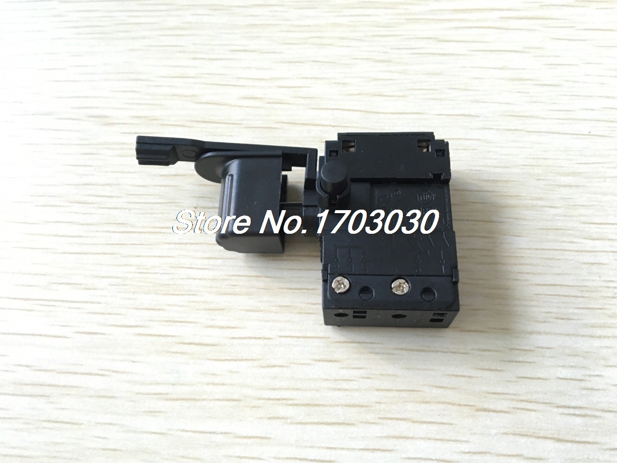 цена на AC 250V 6A Speed Control Lock on Trigger Switch for DeWalt Electric Drill
