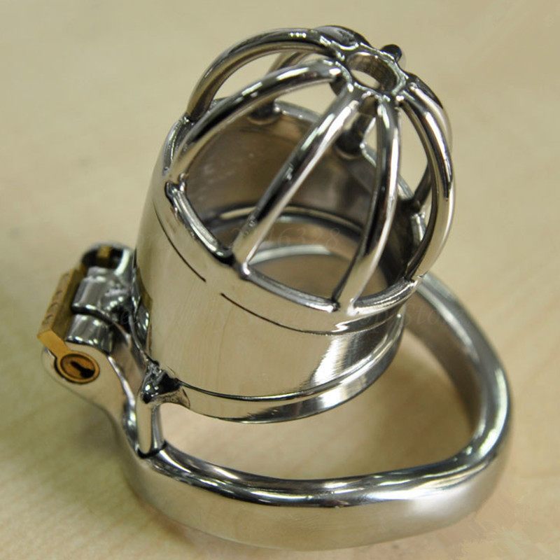 Stainless Steel Chastity Belt Lockable Penis Cage Cock Ring Sleeve Male Chastity Device Cockring Adult Games Sex Toys For Men
