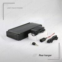 36Volt Rear Rack Lithium Battery 36V 15Ah Electric Bike li ion Battery for Bafang BBS01 350W 500W 8FUN Motor