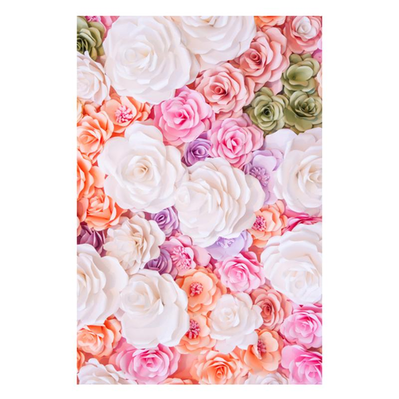 Alloyseed Flowers Valentine Day Theme Photography Background Cloth Studio Backdrop Wall Props Home Decor Accessories 0.9x1.5m 150x90cm pink valentine s day vinyl studio backdrop love theme photography background cloth photo props wedding party favor
