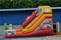 Orange Commercial Inflatable Bouncy Slide for Customized