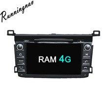 Octa Core RAM 4G ROM 32G Android Fit TOYOTA RAV4 2013 2014 2015 2016 Car DVD