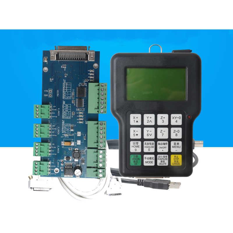 Livraison gratuite!! DSP 0501 contrôleur 3 axes Version anglaise DSP0501 poignée contrôleur 3 axes CNC routeur à distance