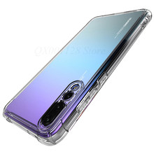 Shockproof Clear Case For Huawei Mate 20 Lite 20 X Mate 10 Pro P20 Nova 3i 3 Cover For Honor 8X Max 8C Note 10 9i 9 Y9 2019 6C(China)