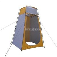 Anti UV Outdoor Camping Tent Bath Moving Toilet Shower Privacy Change Room Dressing Beach Polyester Portable WC Fishing Tent