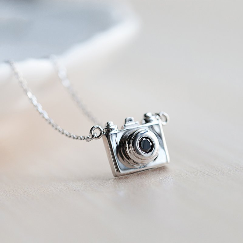 925 sterling silver camera pendant necklace women personalized 925 sterling silver camera pendant necklace women personalized fashion jewelry free shippingsn078 in pendant necklaces from jewelry accessories on mozeypictures Image collections