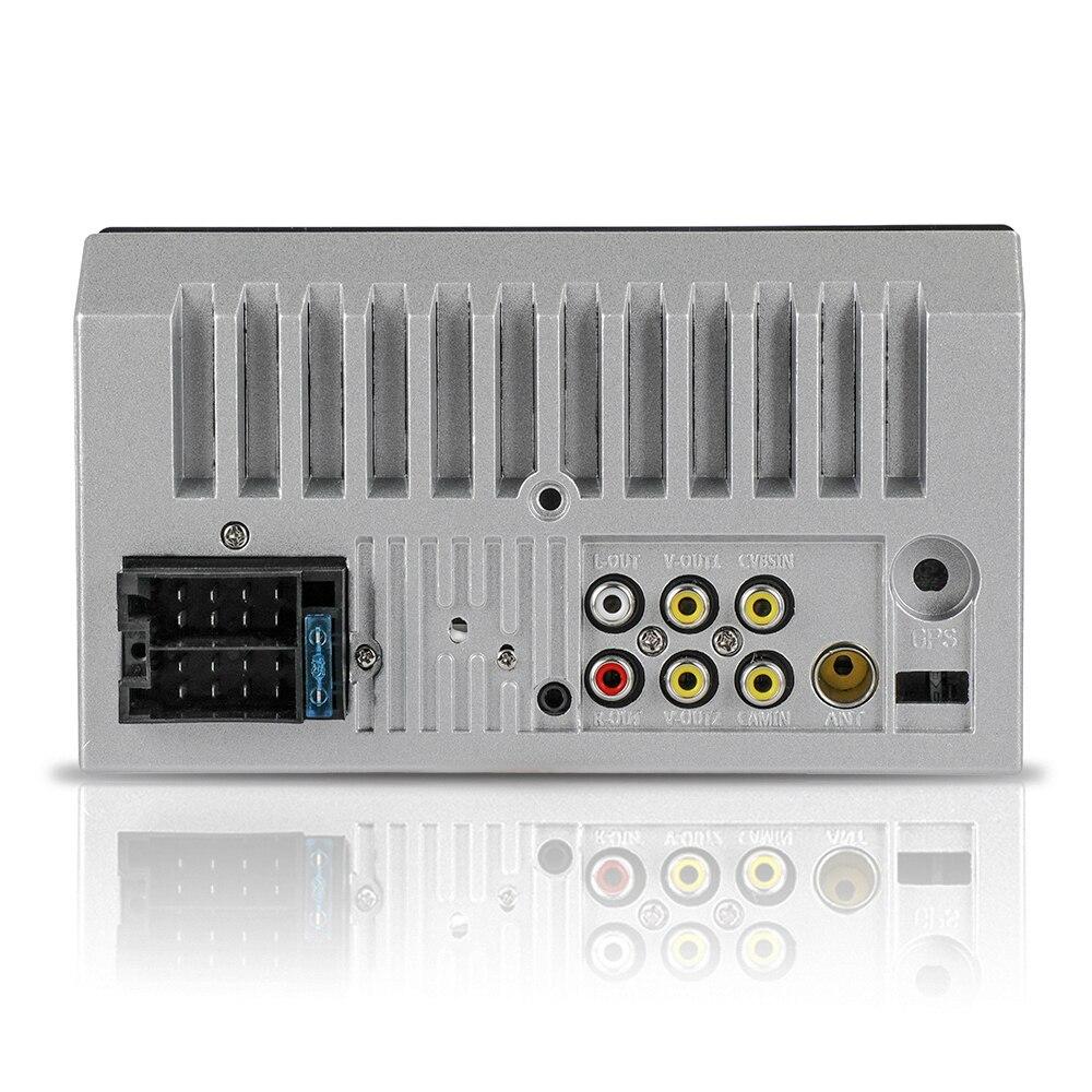 Автомобильный аудио поддержка камеры заднего вида 7 дюймов Автомобильный MP5 пульт дистанционного управления MP5 плеер 1024*600 аудио видео плеер