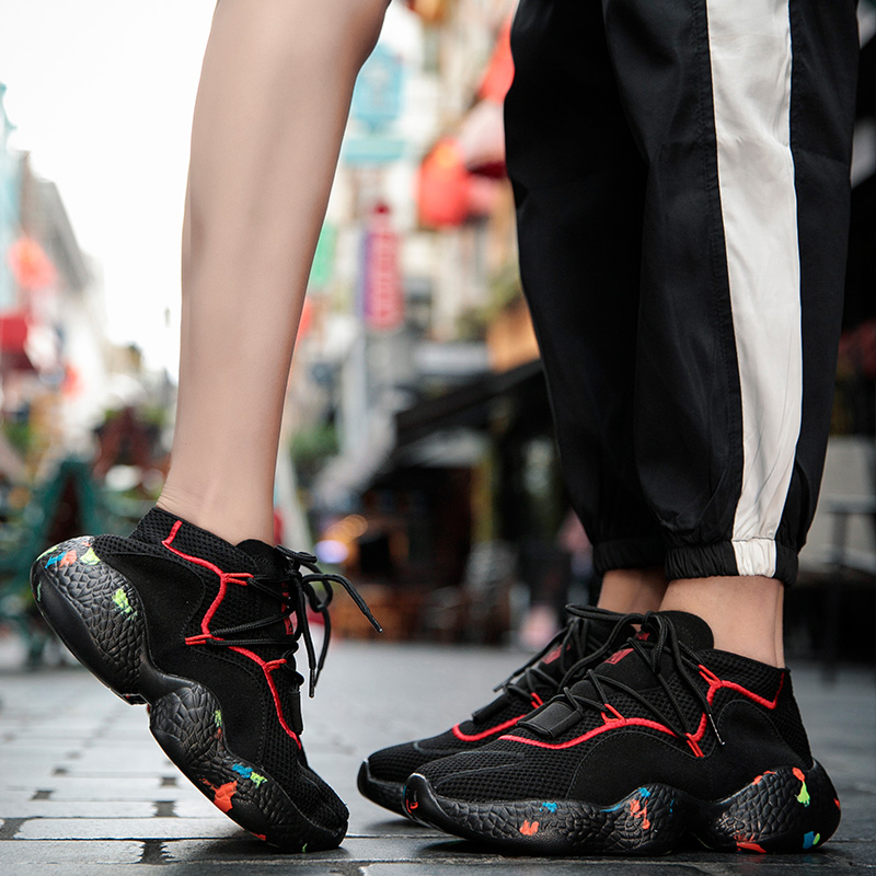 Couple shoes 2019 new spring women 39 s sports Korean version Joker casual shoes ins Super Fire Camo Torre shoes Yasilaiya in Women 39 s Vulcanize Shoes from Shoes