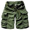 2017 Venta Caliente Para Hombre Pantalones Cortos Casuales Pantalones Cortos Masculinos Pantalones Cortos de Camuflaje Militar Más Tamaño