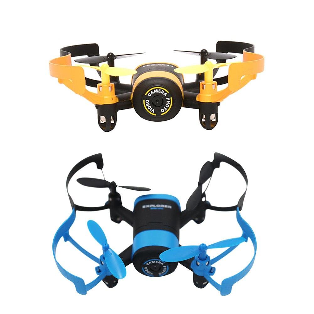 4-Channels RC Quadcopter Drone Con Cámara de 0.3MP HD Modo Sin Cabeza y una Tecl