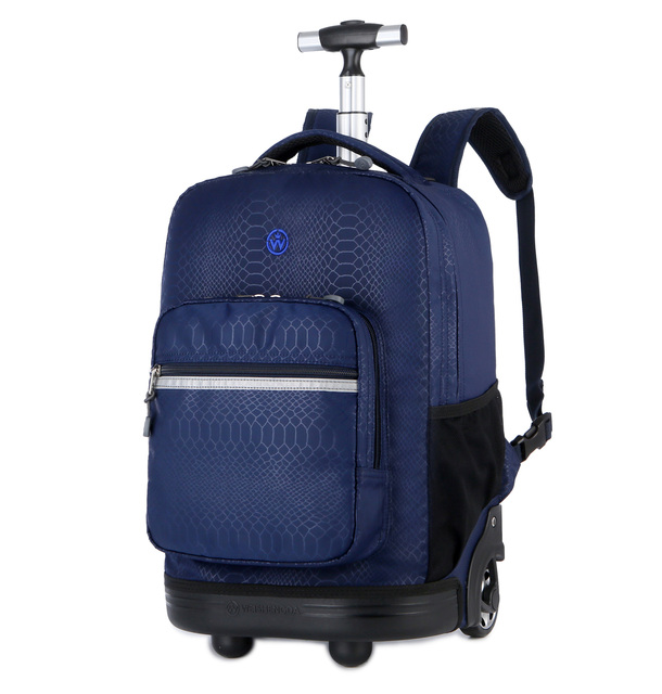 Multifunctional Rolling Luggage School Travel Trolley Bags Suitcase on Wheels Valise Bagages Carry on Trolley Travel Backpack