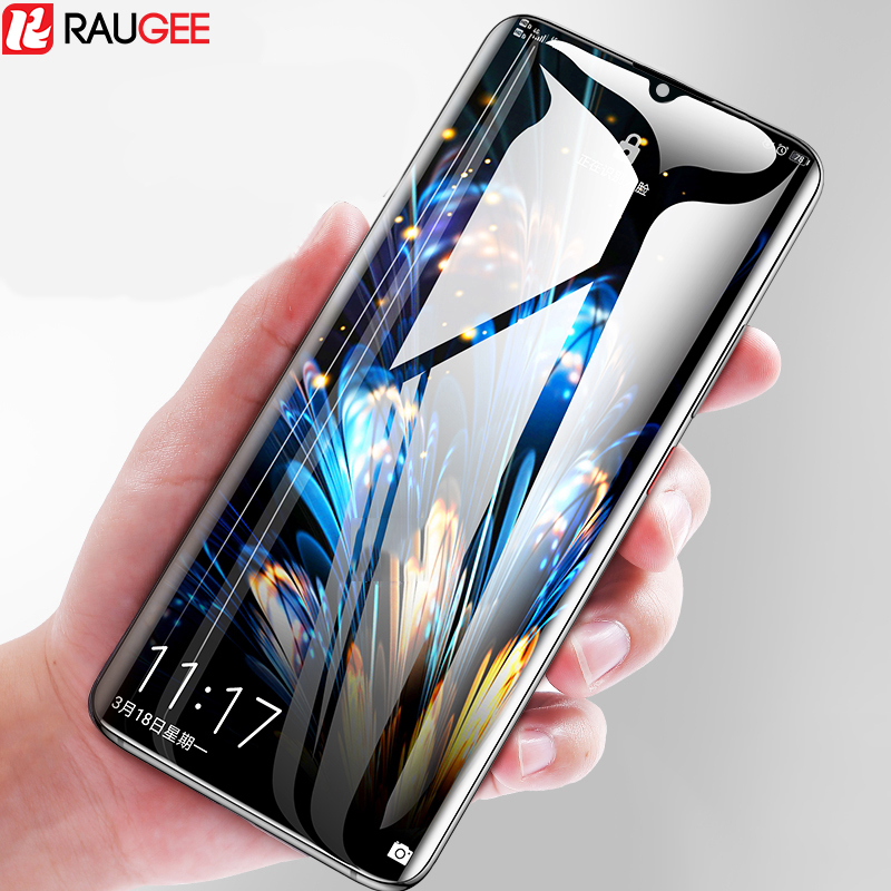 Raugee Glass For Meizu Note 9 Tempered Glass Full Cover Edge Glue Front Screen Protector Film For Meizu Note 9 Note9 Glass