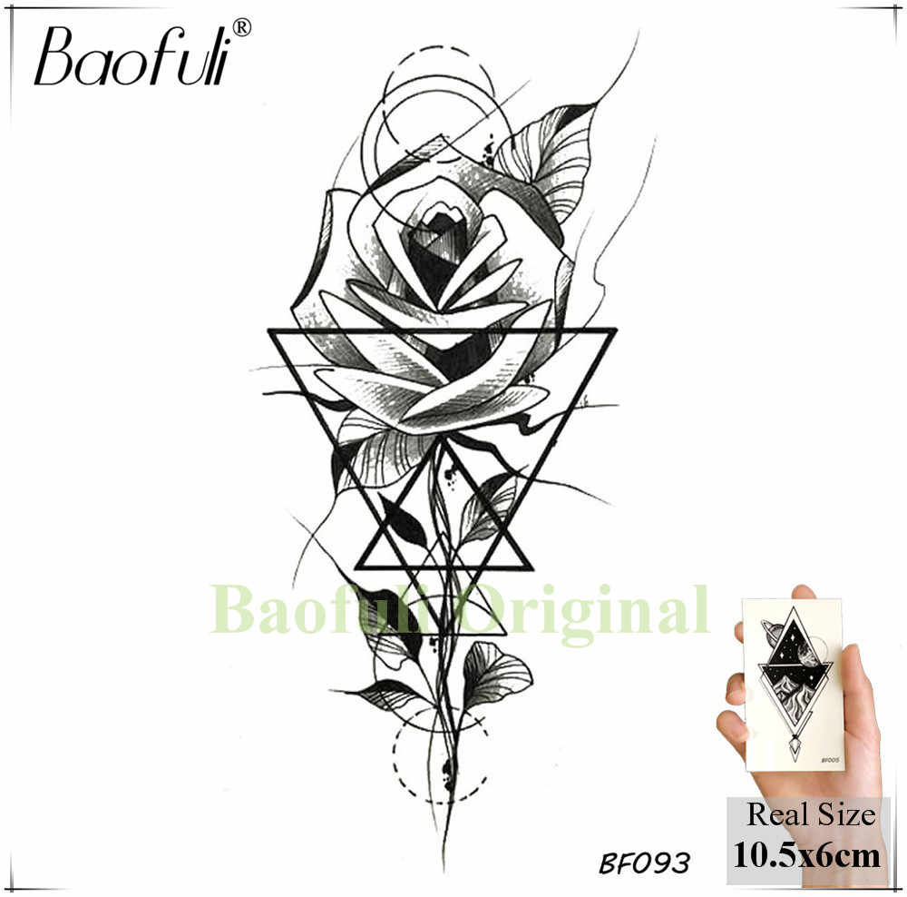 Detail Feedback Questions About Baofuli Pine Tree Black Tattoo