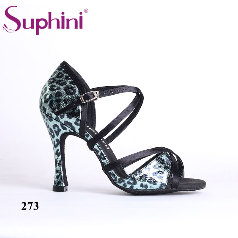 Free Shipping Suphini Latin dance shoes for women girl's lady's ballroom satin professional Salsa