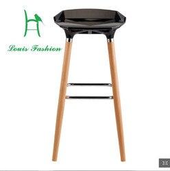 El taburete de la barra taburete de la silla delantera de la silla de jardín piernas altas