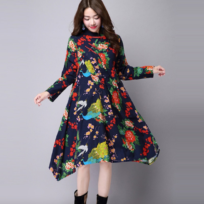 new spring/autumn maternity dresses cotton/linen womens dresses pregnancy dresses maternity autumn clothing 16748