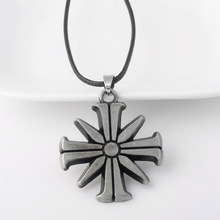 SG 2018 New Game Far Cry 5 PS4 Ares 4 Pendants Necklaces Eden's Gate Chocker Farcry 5 Cult Sunflower Keyring Fans Gift Jewelry цены онлайн