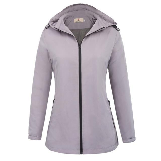 Women's Comfortable Lightweight Quick Dry Skin Coat Ladies ...