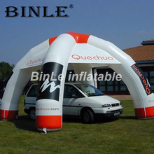 купить Customized 6m spider advertising inflatable tent for car exhibition new commercial inflatable dome tent for sale онлайн