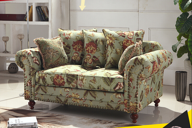 American Style Sofa Cozi Fancy Couch Living Room Sofa Furniture D015