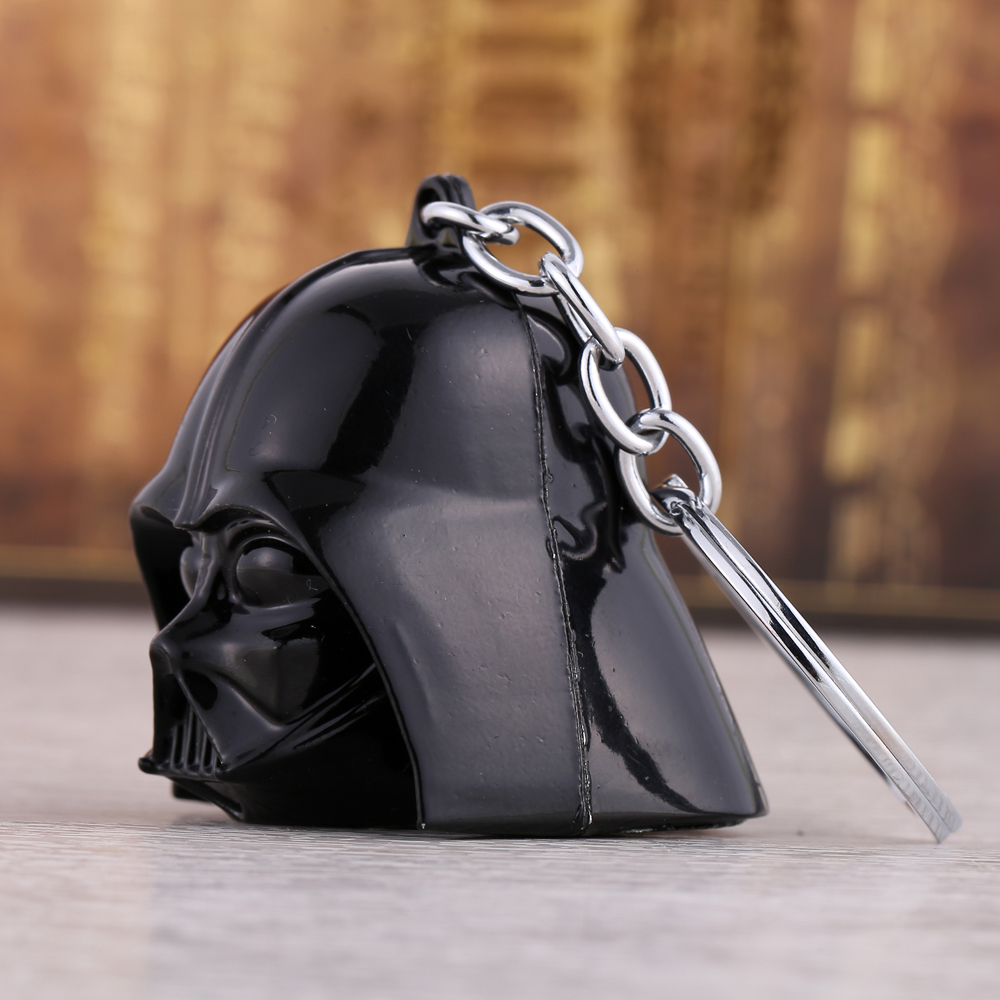 Star Wars 3D Darth Vader Anakin Skywalker Keychain Metal Key Rings For Gift Key chain Jewelry for cars YS11009