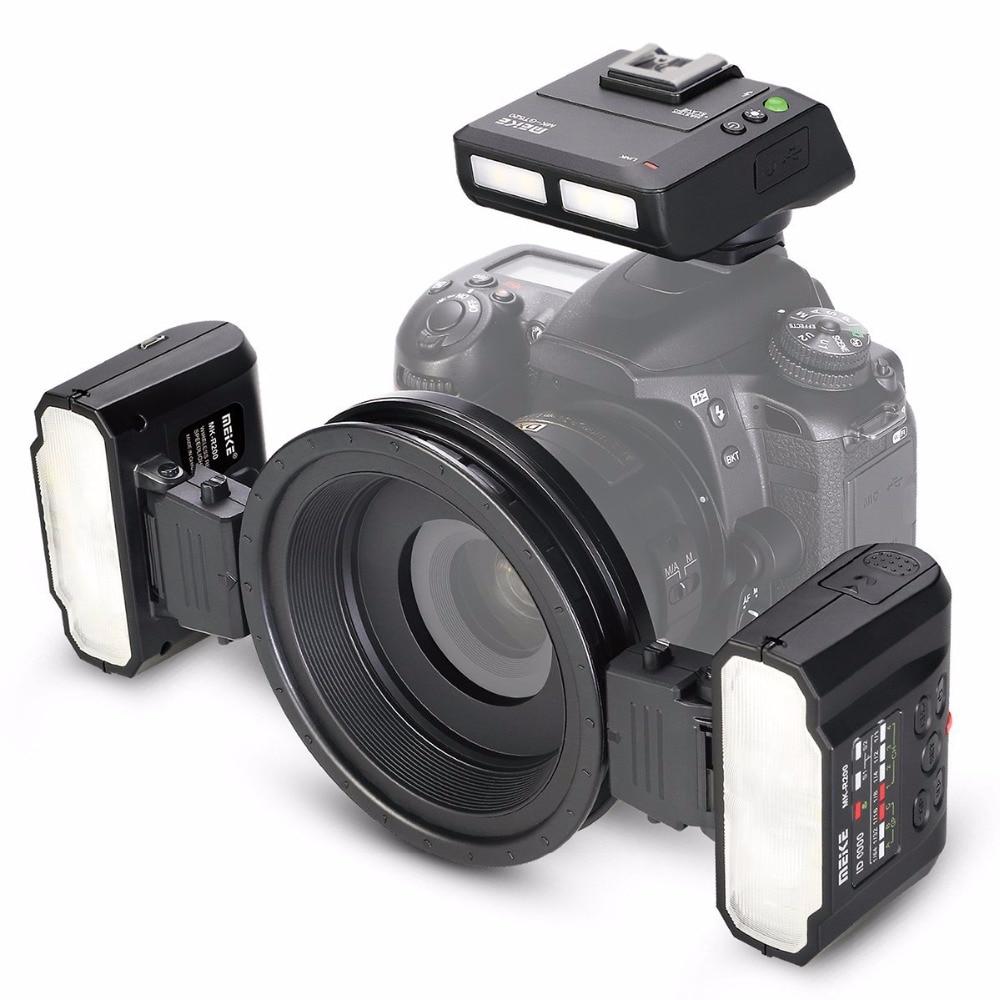 Meike MK-MT24 Macro Twin Lite Flash for Sony A7 A7R A7S A7II A7RII A5000 A5100 A6000 A6300 A6500 NEX6 NEX7 NEX3 NEX5 Cameras