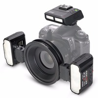 Meike MK MT24 Macro Twin Lite Flash for Sony A7 A7R A7S A7II A7RII A5000 A5100 A6000 A6300 A6500 NEX6 NEX7 NEX3 NEX5 Cameras
