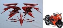 Vélo moto pour Suzuki GSXR GSX-R GSX R 1300 Hayabusa decal sticker set magenta