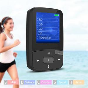 Image 5 - Bluetooth MP4 Player 16GB Clip Sport Sweatproof Lossless Audio Player with FM Radio pedometer and Bookmark,Maximum Support 64GB