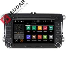 Android 7.1.1 2 Din 7 Zoll Auto-DVD-Spieler Für VW/Volkswagen/POLO/PASSAT/Golf/Skoda/Octavia/Sitz RAM 2G WIFI GPS Navigation Radio