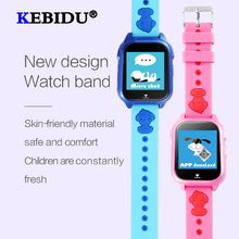 KEBIDU IP67 Waterproof Children GPS Smart Watch SOS Call Location Device Tracker Kids Safe Anti-Lost Monitor Watch For Gift(China)