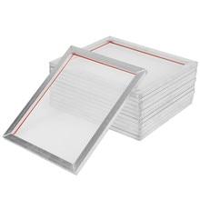 2 шт., алюминиевая рама для трафаретной печати A5 32*22 см с 32T 120T, полиэфирная сетка для печатных плат