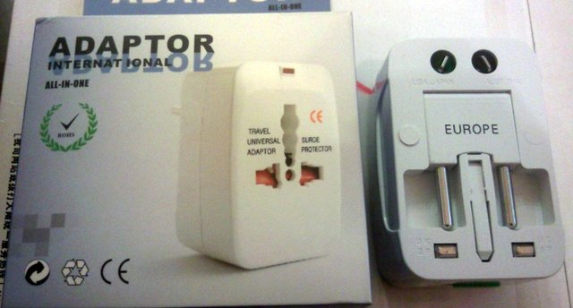 Universal International Adapter All-In-One Surge Protector Free Shipping